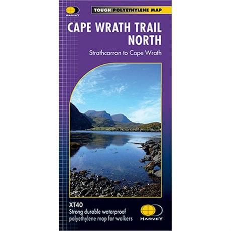 Harvey Map - XT40: Cape Wrath Trail - North