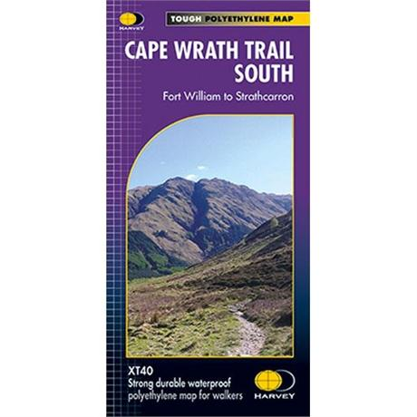 Harvey Map - XT40: Cape Wrath Trail - South