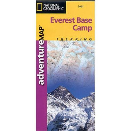 Nepal Map: National Geographic Adventure Map: Everest Base Camp 1:50,000