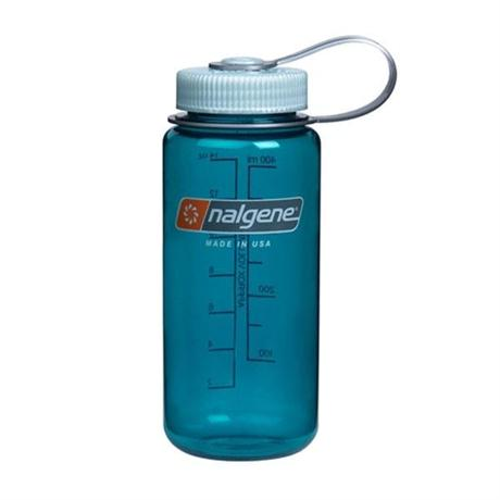 Nalgene Tritan 500ml Wide Mouth Bottle Trout Green