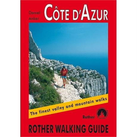 Rother Walking Guide Book: Cote d'Azur