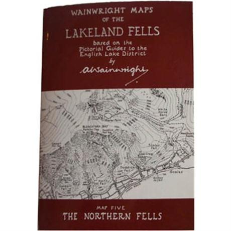 Wainwright Map No.5 The Northern Fells