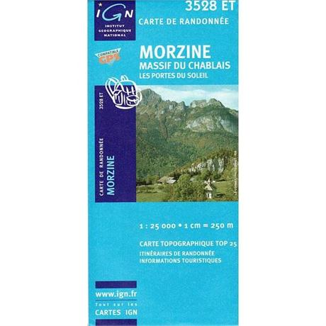 Morzine 3528 ET Map - France
