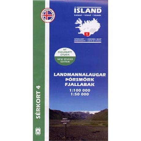 Iceland Map Landmannlaugar Hiking 4