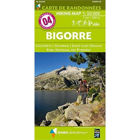 France IGN Map 4 Rando Editions Bigorre