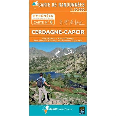 France IGN Map Rando Editions Cerdagne-Capcir