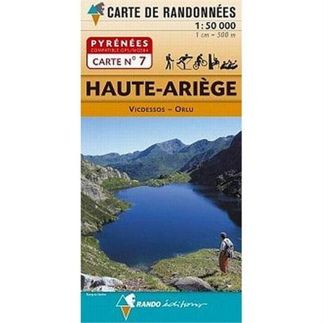 France IGN Map Pyrenees Haute-Ariege