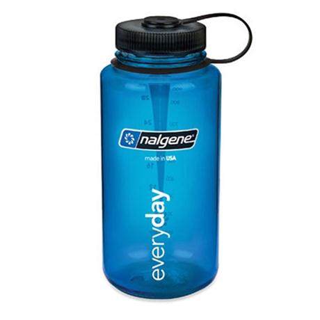 Nalgene Tritan 1L Wide Mouth Bottle Blue