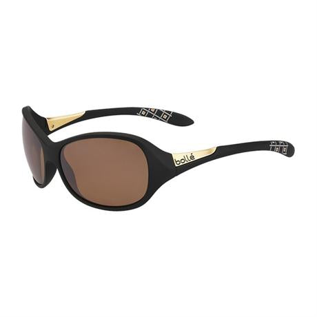 Bolle Eyewear Grace Sunglasses Matt Black Polarized Sand AF
