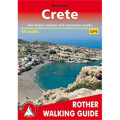 Rother Walking Guide Book: Crete