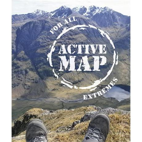 OS Landranger ACTIVE Map 41 Ben Nevis, Fort William & Glen Coe