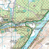 OS Landranger ACTIVE Map 34 Fort Augustus, Glen Roy & Glen Moriston