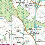 OS Landranger ACTIVE Map 57 Stirling & The Trossachs