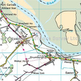 OS Landranger ACTIVE Map 85 Carlisle & Solway Firth, Gretna Green