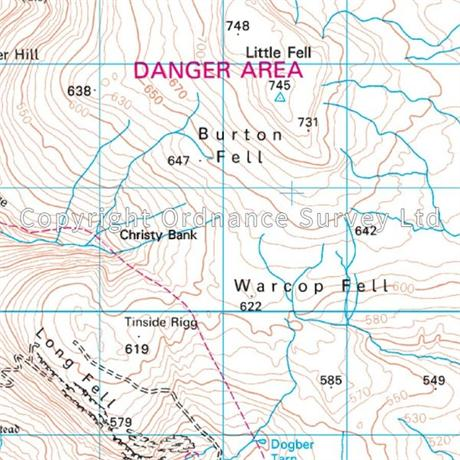OS Landranger ACTIVE Map 91 Appleby-in-Westmorland