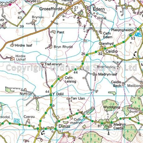 OS Landranger ACTIVE Map 123 Lleyn Peninsula