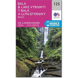 OS Landranger ACTIVE Map 125 Bala & Lake Vyrnwy, Berwyn
