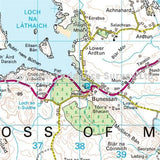 OS Landranger Map 48 Iona & West Mull, Ulva