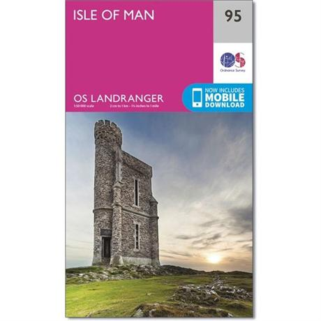OS Landranger Map 95 Isle of Man