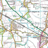 OS Landranger Map 150 Worcester & The Malverns, Evesham & Tewkesbury