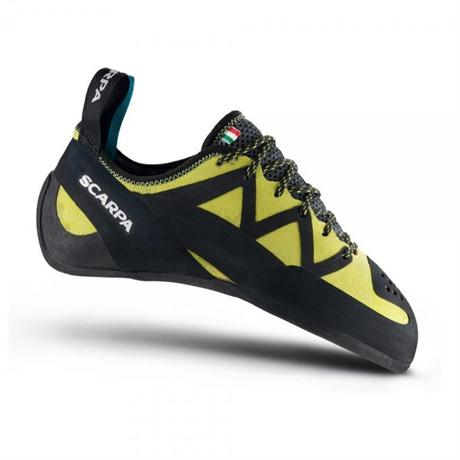 Scarpa Rock Shoes Men's & Unisex Vapour Lace Yellow