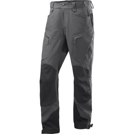 Haglofs Pant Men's Rugged II Mountain SHORT Leg Trousers Magnetite/True Black