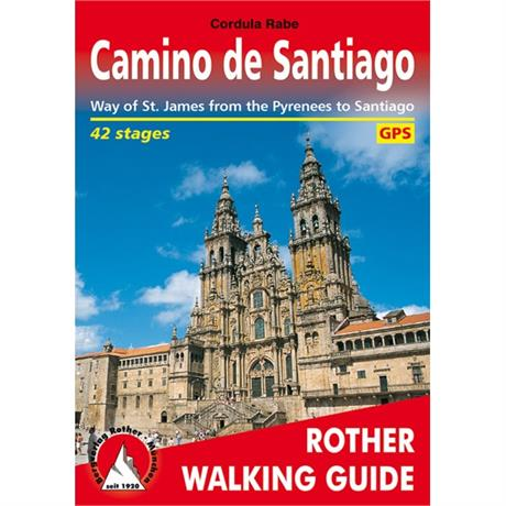 Rother Walking Guide Book: Camino de Santiago