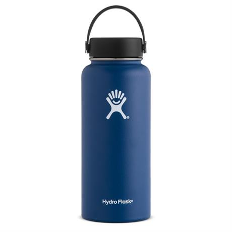 Hydro Flask 32oz / 0.9 L Wide Mouth Bottle Cobalt