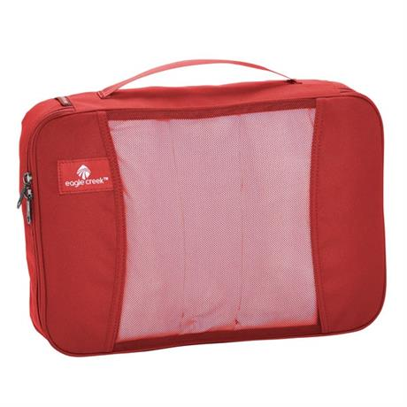 Eagle Creek Travel Luggage: Pack-It Original Cube MEDIUM Red Fire