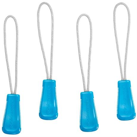 Eagle Creek Travel Luggage: Reflective Zip Pull Set Brilliant Blue