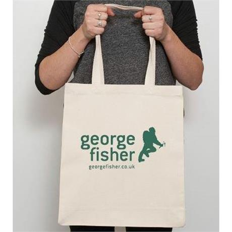 George Fisher Cotton Shopping Bag