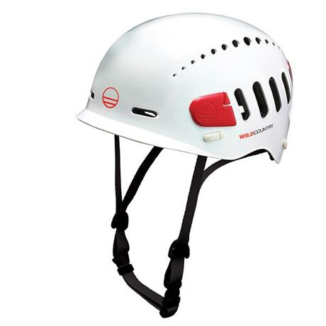 Wild Country Climbing Helmet Fusion White/Red