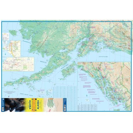 Alaska Map Travel Reference