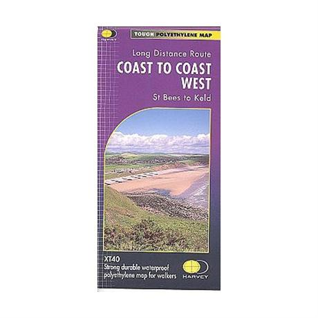 Harvey Map - XT40: Coast to Coast - West (St Bees to Keld)