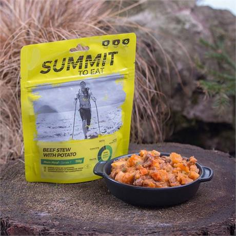 Summit to Eat Camping Meal: Beef and Potato Stew
