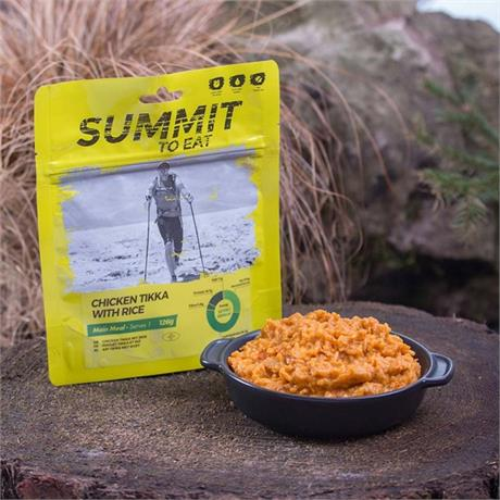 Summit to Eat Camping Meal: Chicken Tikka with Rice
