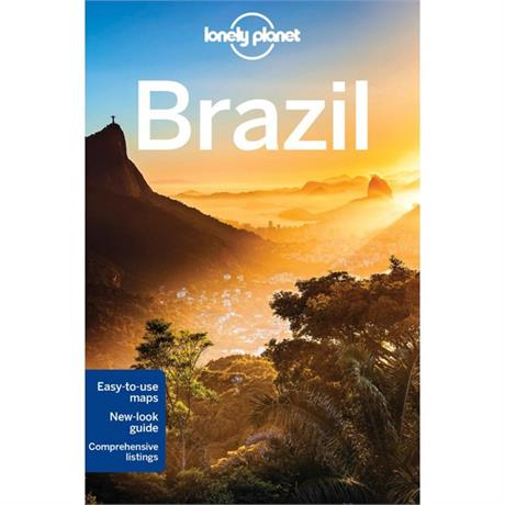 Lonely Planet Travel Guide Book: Brazil