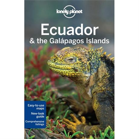 Lonely Planet Travel Guide Book: Ecuador and the Galapagos Islands