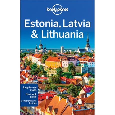 Lonely Planet Travel Guide Book: Estonia, Latvia and Lithuania