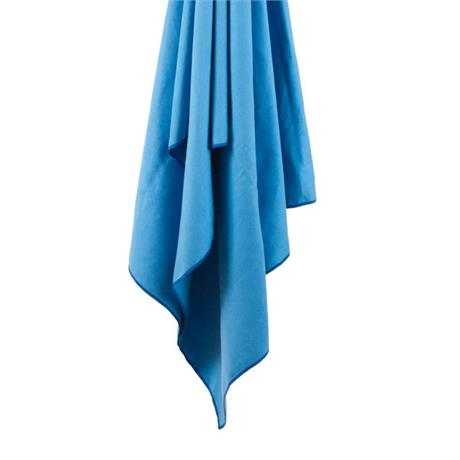 LifeVenture SoftFibre Travel Towel - Large, Blue