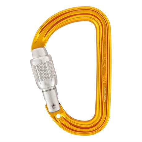 Petzl Karabiner Sm'D Screwgate Orange
