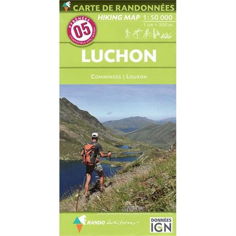Pyrenees Map IGN Luchon 5