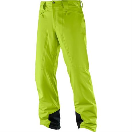 Salomon SKI Pants Men's Icemania REGULAR Leg Trousers Acid Lime