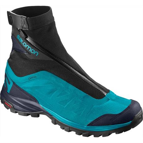 Salomon Shoes Women's OUTpath Pro GTX Blue Bird/Navy/Black