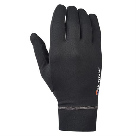 Montane Gloves Men's Power Dry Black/Mercury
