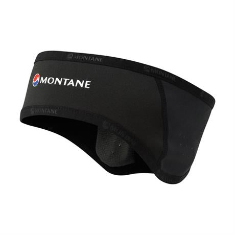 Montane Headband Windjammer Rock Band Black/Charcoal Pile