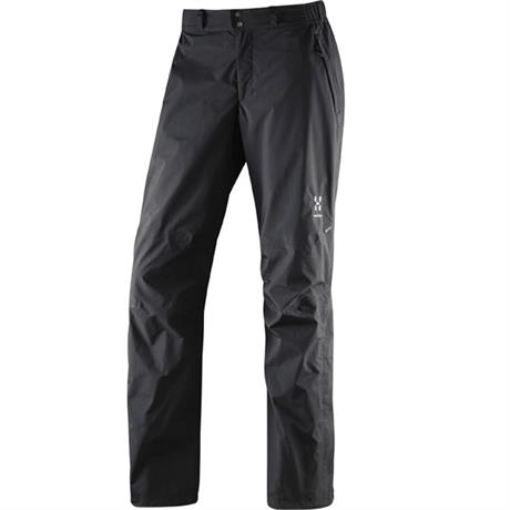 Haglofs WATERPROOF Overtrousers Women's Vandra Pant LONG Leg True Black