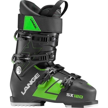 Lange Ski Boots Men's SX120 Black/Green