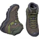 Keen Boots Men's Galleo Mid WP Black/Greenery