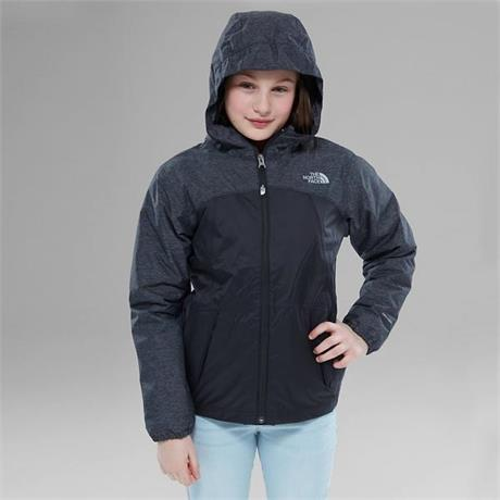 North Face SKI Jacket Girl's Warm Storm TNF Black